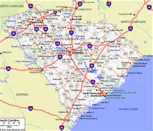 maps map south carolina
