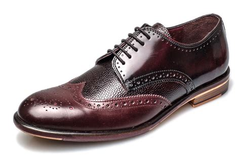Heels Lincon Import 5 brogues lincoln 5 eye mens leather sole derby shoes ebay