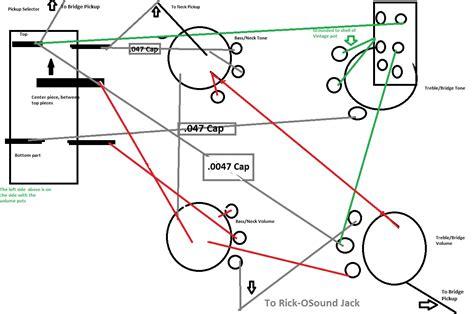 rickenbacker wiring mishap talkbass