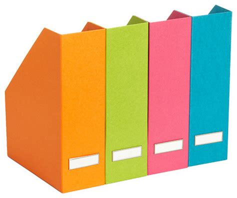 Bright Colored Desk Accessories by Bright Stockholm Magazine File Desk Accessories By The Container Store