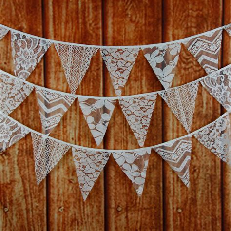 Lace Wedding Banner by White Lace Wedding Photo Booth Banner Flag