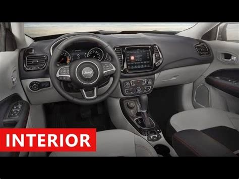 jeep limited inside 2018 jeep compass limited interior
