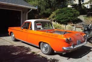 el cormino custom 1962 chevrolet corvair pick up bring