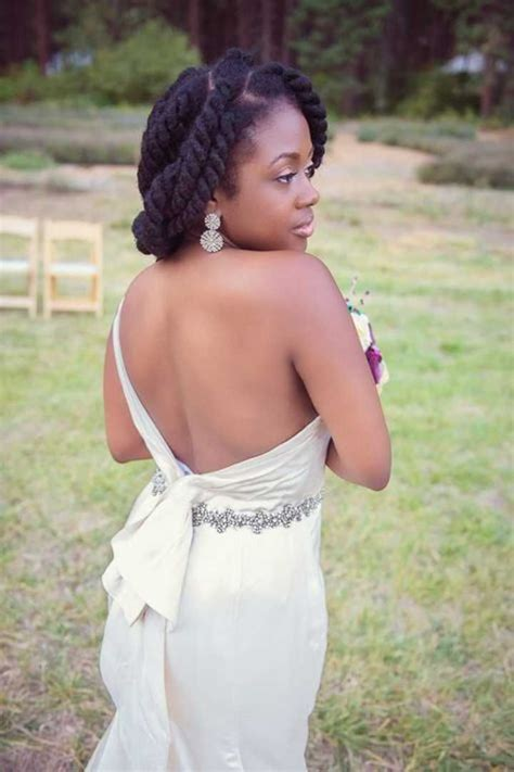 kinky wedding styles 51 best natural hair wedding styles images on