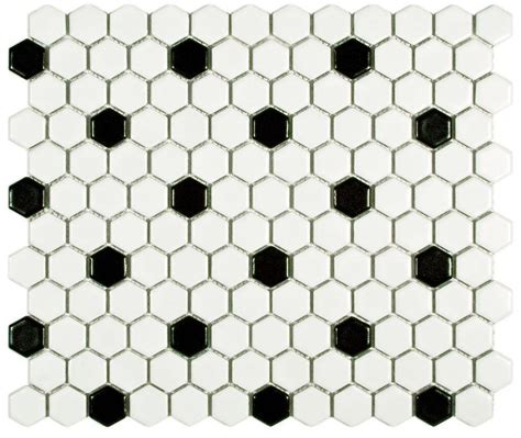 black and white hexagon tile floor www imgkid com the