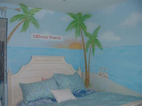 palm tree wall murals themed wall murals surf themed murals themed murals
