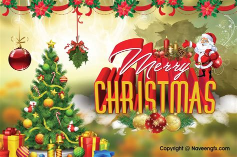 merry christmas ecards    psd background  downloads naveengfx