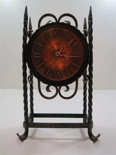 Vintage Retro Bulb Metal Iron Table Clock 4 Inches Jam Meja vintage cast iron table clock antique kienzle catawiki