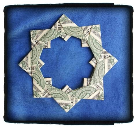 Money Origami Wreath - pin origami money wreath by marjorie on