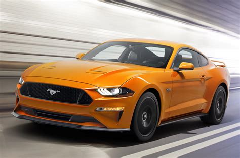 2018 facelift ford mustang unveiled added new colors and