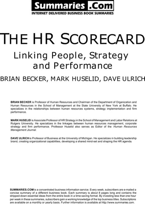 hr scorecard template free hr scorecard templates for free formtemplate