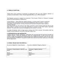 Marketing Services Contract Template by Sle Social Media Marketing Agreement Free