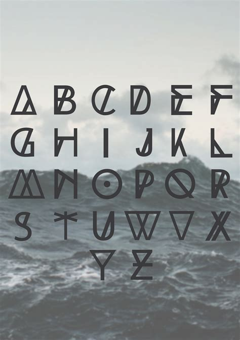 typography and typeface high tide fontm