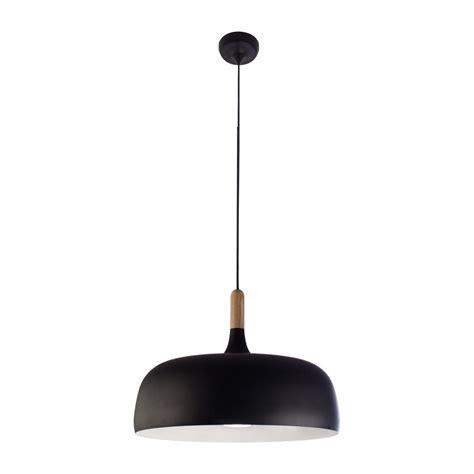 white wood pendant light bazz 1 light black and white wood pendant p15194bk the
