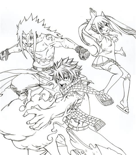 dragon slayer coloring page fairy tail dragon slayers coloring pages sketch coloring page