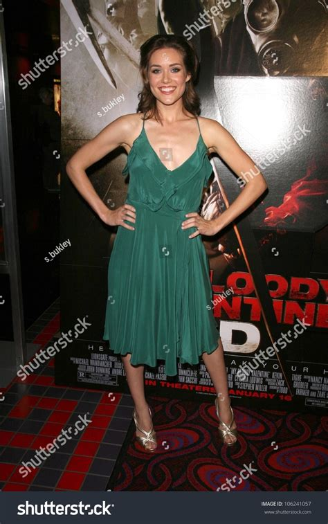 megan boone my bloody megan boone at the los angeles special screening of my