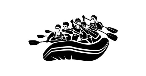 raft boat  vector  transparent png  graphic cave