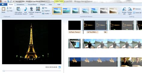 themes for windows live movie maker microsoft s free windows live movie maker makes nice but