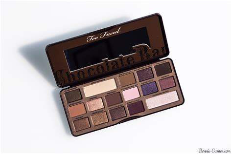 faced chocolate bar eyeshadow palette my review