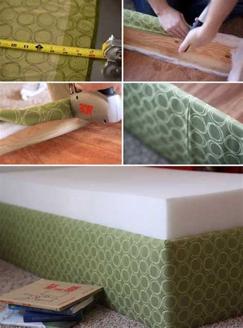 How To Make An Upholstered Toddler Bed For Under 40 How To Make A Crib Mattress