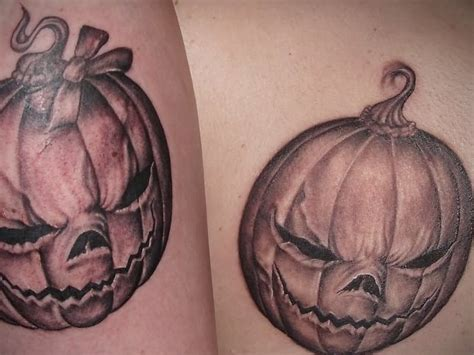pumpkin tattoo 21 permanent ideas