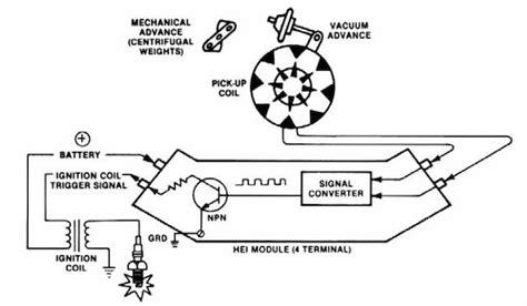 100 wiring diagram hei distributor accel hei wiring