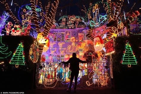 britain s biggest christmas lights display in wiltshire is