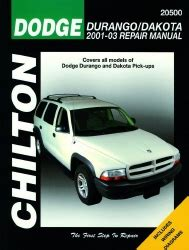 chilton car manuals free download 2004 dodge dakota club seat position control 2001 2004 dodge durango dakota chilton s total car care manual