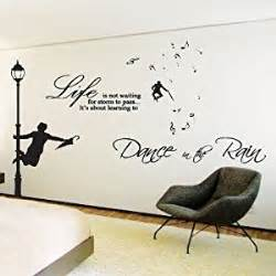 Transfer Stickers For Walls the rain wall art sticker quotes wall wall decals wall transfers wall