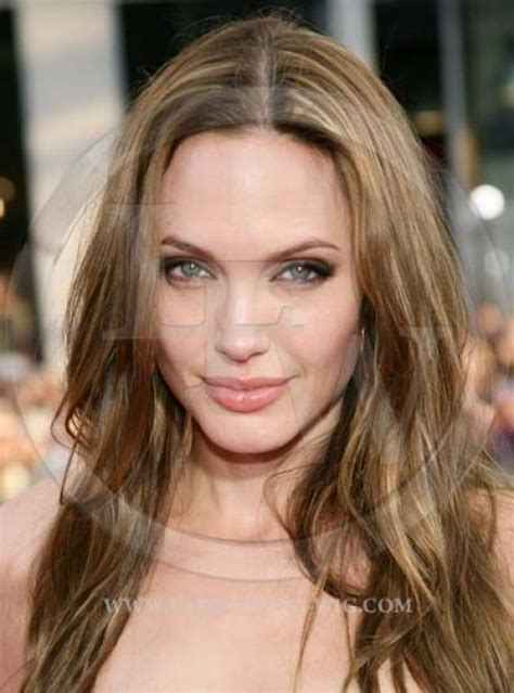 Angelina Jolie Celebrity Inspired Straight Lace Wig