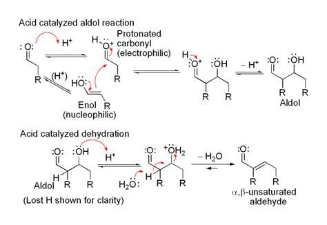 dehydration ketones the aldol condensation synthesis of dibenzalacetone