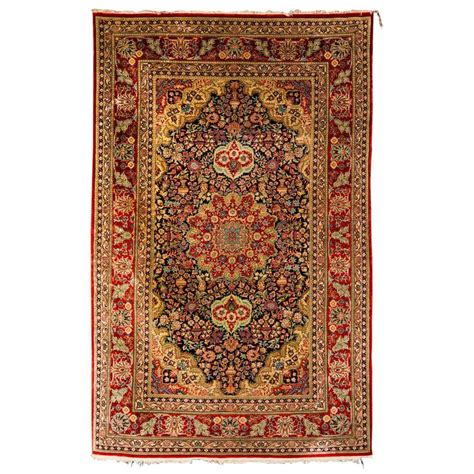 quality rugs and furniture high quality silk carpet kayseri rug for sale at 1stdibs