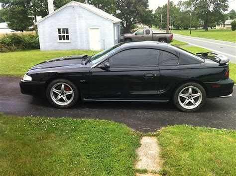 1998 mustang gt 4 6 sell used 1998 ford mustang gt coupe 2 door 4 6l in