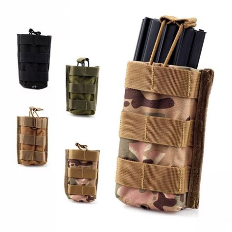 Nayaga Pouch M Dompet Pouch molle tactical single rifle mag magazine pouch open top bag for m4 m16 5 56 223 magazine pouch