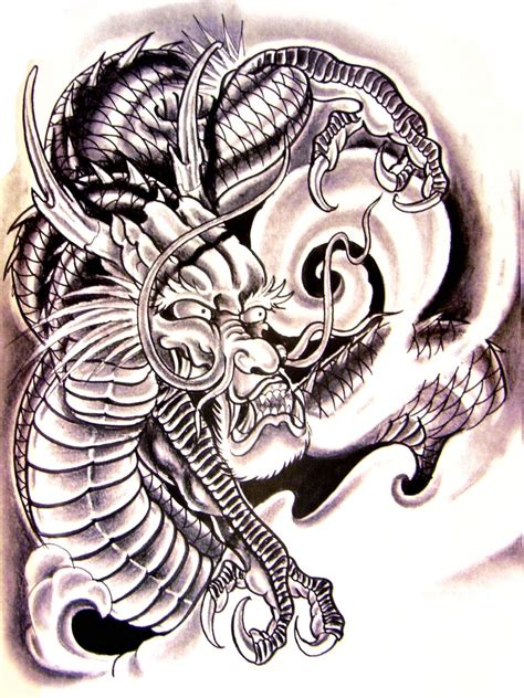 pdf format tattoo book pic chinese dragon ghost flower