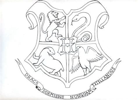 harry potter coloring pages house crests gryffindor coloring pages hogwarts crest page grig3 org