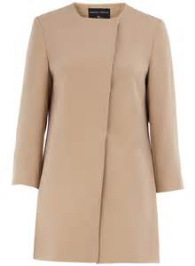 trend dorothy perkins collarless coats south molton st style