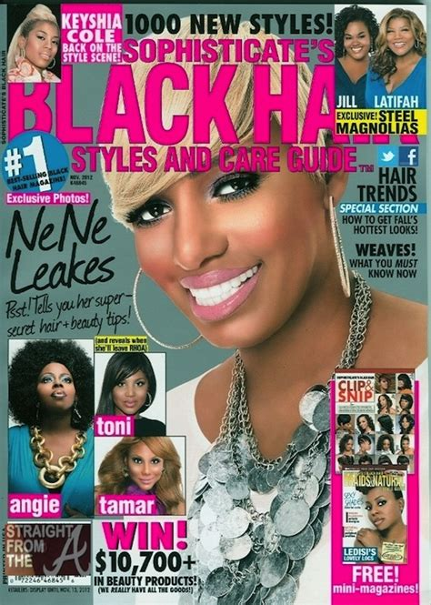 Black Hair Magazine Hairstyles 2012 by Nene Leakes Shares Secrets In Sophisticate S Black