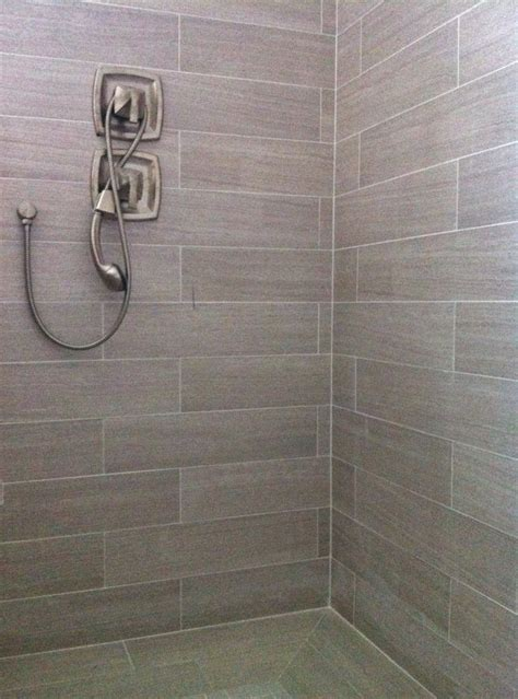 6x24 porcelain tile bathroom pinterest porcelain tiles tile and porcelain