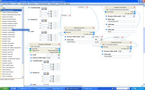 programming workflow metaio unifeye demo 3