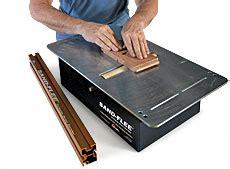 bench top drum sander r j r studios sand flee drum sander finewoodworking