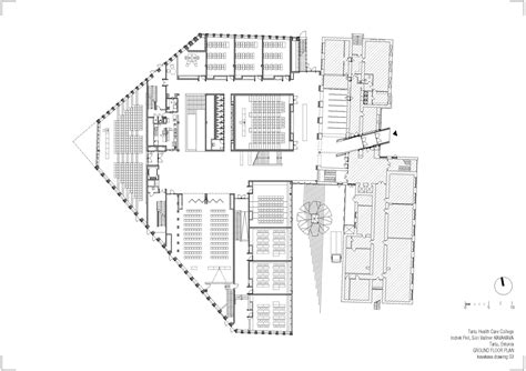 floor plan architecture gallery of tartu health care college kavakava architects