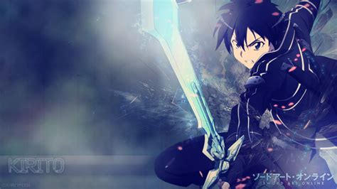 Sao 2 Kirito Iphone Dan Semua Hp sword wallpaper kirito wallpapersafari