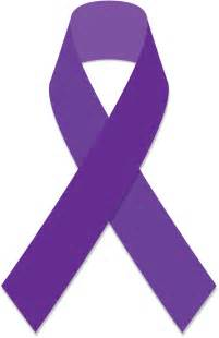cancer color ribbons purple cancer ribbon clipart best