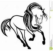 Horse Running Stock Vector  Image 44393309