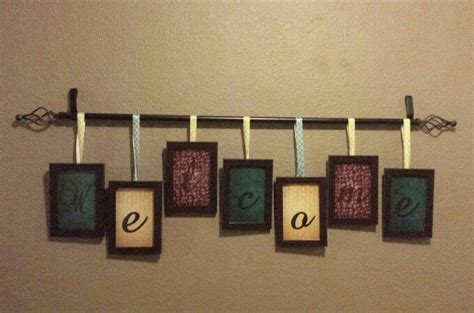 family dollar curtain rods 107 best images about picture frame ideas on pinterest