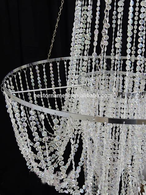 Wedding Chandeliers Cheap Wedding Wholesale Acrylic Beaded Chandelier Buy Wholesale Acrylic Chandelier Acrylic Cheap
