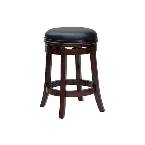 Cherry Backless Counter Stools by 24 Backless Counter Stool Cherry Boraam Shop
