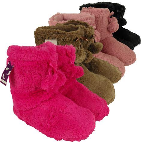 yeti slipper boots womens ankle boot slipper yetti winter yeti