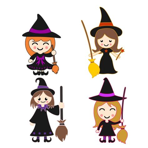 witch hat svg cuttable frames witch switch cuttable design